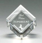 Corporate Crystal Cube  t Achievement Awards