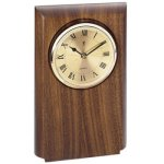 Walnut Clock Mount, Rounded (2d8) (t) Achievement Awards