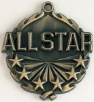 Wreath All Star Medal   t All Trophy Awards