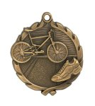 Wreath Triathlon Medal  t All Trophy Awards