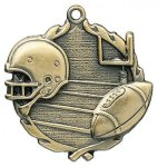 Wreath Football Medals  t All Trophy Awards