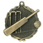 Wreath Cricket Medal  t All Trophy Awards