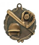 Wreath Softball Medal  t All Trophy Awards