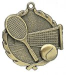 Wreath Tennis Medals    t All Trophy Awards