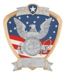 Signature Series Navy Shield Award All Trophy Awards