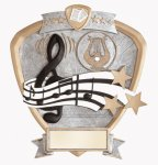 Signature Series Music Shield Award  t All Trophy Awards