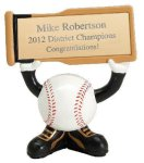 Ball Head Baseball Resin Figures   t All Trophy Awards