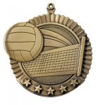 Star Volleyball Medals  t All Trophy Awards