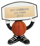 Ball Head Basketball Resin Figure All Trophy Awards