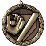 Baseball Bat and Glove(50B1,2,3)  t Baseball Trophy Awards