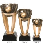 Baseball Tower Resin  T Baseball Trophy Awards