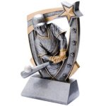 3D Resin Baseball    T Baseball Trophy Awards