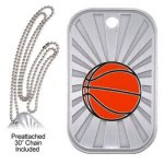 Basketball Dog Tag   t Basketball Trophy Awards