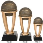 Basketball Tower Resin   T Basketball Trophy Awards