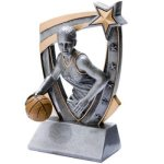 3D Resin F. Basketball  T Basketball Trophy Awards