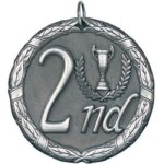 2nd Place Silver(50A2)  t Billiards/Pool Trophy Awards