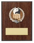 Karate Resin Plaque Mount Award Bowling Trophy Awards