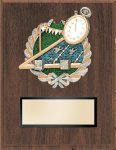 Swimming Resin Plaque Mount Award Car/Automobile Trophy Awards