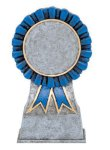 Color Ribbon Resin Mylar Holder  t Cheerleading Trophy Awards
