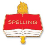 Spelling Lapel Pin   t Chenille Lapel Pins