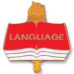 Language Lapel Pin      t Chenille Lapel Pins