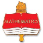 Mathematics Lapel Pin  t Chenille Lapel Pins