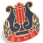 Band Chenille Pin  t Chenille Lapel Pins