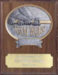 Teamwork Resin Plaque Mount Award Coach Trophy Awards