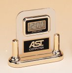 Acrylic Clock With LCD Movement  t Desk Clocks