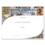A Honor Roll  t Education Trophy Awards