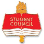 Student Council Lapel Pin  t Education Trophy Awards
