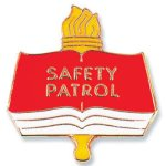 Safety Patrol Lapel Pin  t Education Trophy Awards