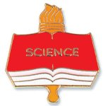 Science Lapel Pin   t Education Trophy Awards
