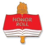 Honor Roll Lapel Pin  t Education Trophy Awards