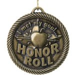 Met My Goal Honor Roll t Education Trophy Awards