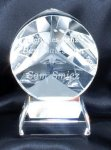 Crystal 3-D Star (t) Employee Awards