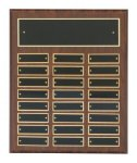 Cherry Finish Perpetual Plaques  t Employee Awards