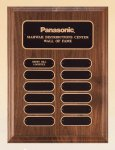 American Walnut Perpetual Plaque  t Employee Awards