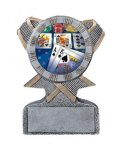 Action Sport Mylar Holder Equestrian Trophy Awards