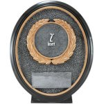 2 Insert, Resin Oval   T Equestrian Trophy Awards