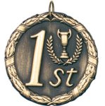 1st Place Gold(50A1) Equestrian Trophy Awards