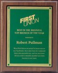 Plaque with Square Plate Award Fire and Safety Awards