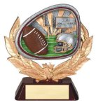 Stamford Resin Football (Disc)   t Football Trophy Awards