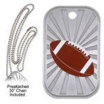 Football Dog Tag   t Football Trophy Awards