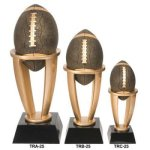Football Tower Resin   T Football Trophy Awards