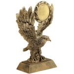 Eagle W/ 2 Ins Holder Resin  t Football Trophy Awards