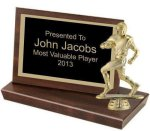 Standing Plaque, 4 1/4 (t) Football Trophy Awards
