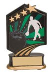 Bowling Resin Trophy Graphic Star Resin Trophies