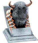 Buffalo Mascot  t Mascot Resin Trophy Awards