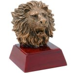 Lion Resin  t Mascot Resin Trophy Awards